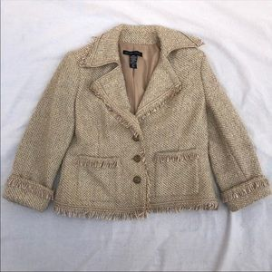 New York and Company tweed jacket size 10
